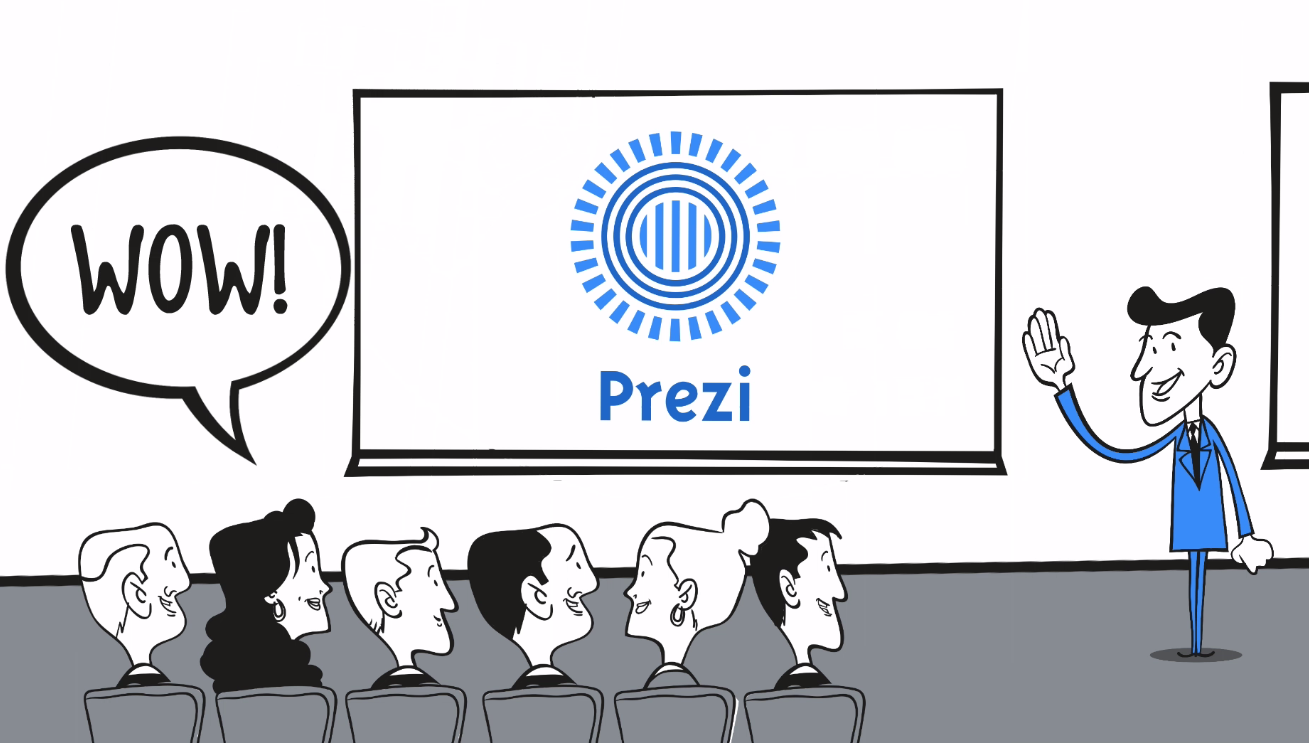 Good looking presentation with Prezi