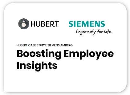 Hubert Siemens Case Study